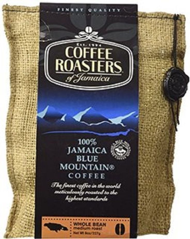 Coffee Roasters of Jamaica 100% Jamaica Blue Mountain Coffee Whole Beans 16 oz  #CoffeeRoasters