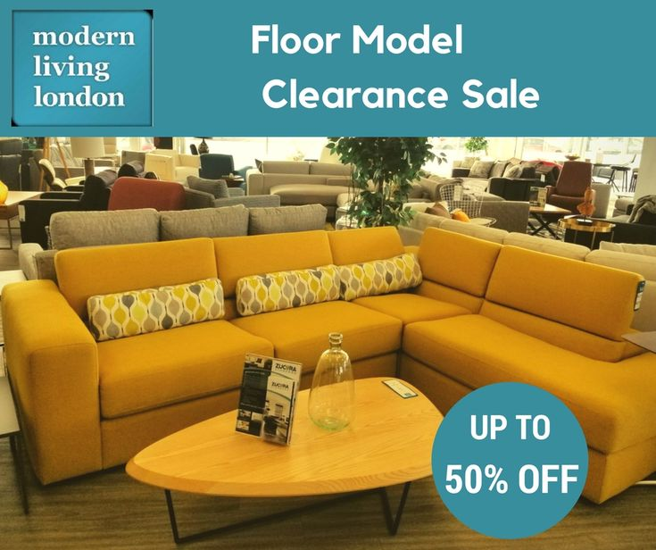 We're having a floor model clearance sale! Now's the time to save big on the furniture you need. Rush on in. The sale ends on February 28.