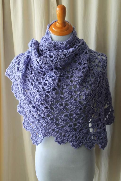 Crocheting Ideas | Project on Craftsy: Hannah's South Bay Shawl