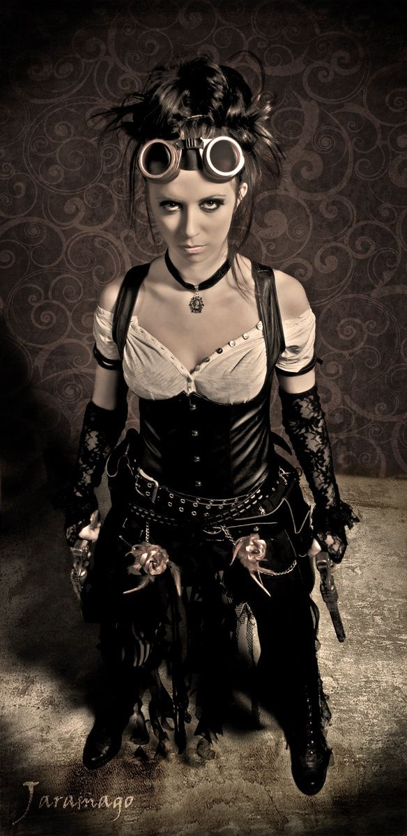 SteamPunk Girl - Steampunk Girl http://steampunk-girl.tumblr.com/ costume inspiration