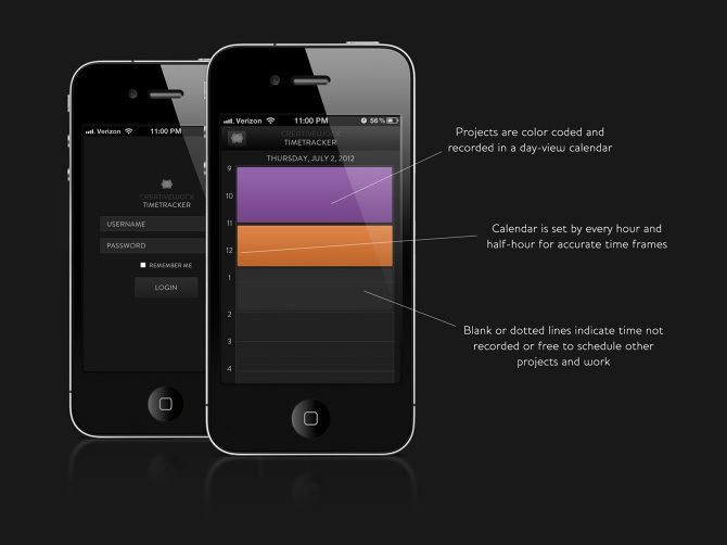Clarissa and I created and iterated the IA, wireframes, and mockups for a design of the mobile app for the company's flagship product.