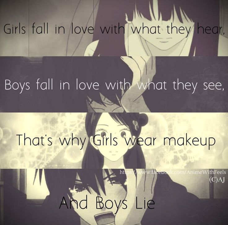 Girl anime quotes