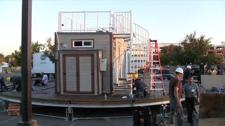 2016 Winner Tiny House Competition Time Lapse - Santa Clara University