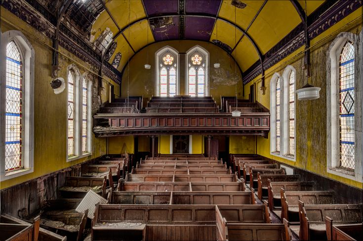 Abandoned Churches by James Kerwin