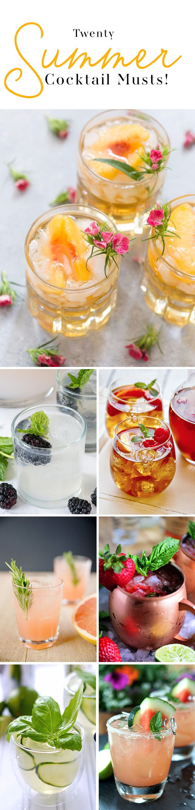 Sip Sip Hooray! It's Summer time and we are here to get our drink on!