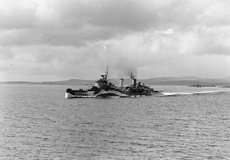 On 6 June 1944, HMS Belfast was the flagship of Bombardment Force E, supporting troops landing at Gold and Juno beaches. Her first target was the German gun battery at La Marefontaine. As a result of HMS Belfast's bombardment, the battery played no meaningful role in the defence of the beaches.