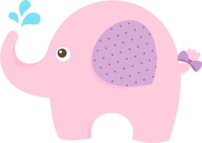 Pink elephant baby shower pinterest pink elephant - Fotos de elefantes bebes ...