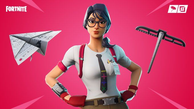 Of Nerds And Nightmares The Party Parade And Calculator Crew Gear Are Back In The Item Shop Http Bit Ly 2cghrbv Fortnite Fortnite 22 Jump Street Skin