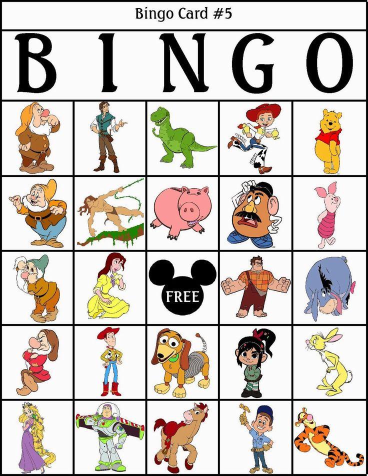 Mejores 16 imágenes de bingo en Pinterest | Imprimir gratis ...