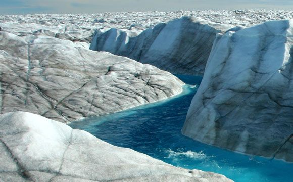 New Research Shows Greenland Ice Sheet Movement is Decreasing Despite Warming  A newly published study from the University of Edinburgh shows that the movement of the southwest portion of the Greenland Ice Sheet that terminates on land has been slowing down despite decades of increasing temperatures and surface melting. The study is published in the journal Nature. Researchers derived their results by tracking ice sheet movement […]  The post  New Research Shows Greenland Ice Sheet ..