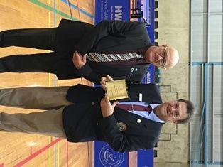 2015 Fran Keyhoe Official of the Year - Glenn Errington