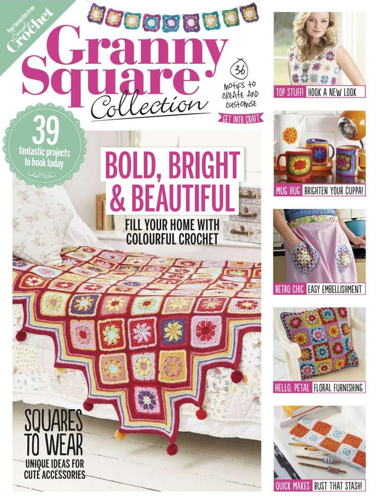 671 best crochet knit magazine images on pinterest crochet granny square collection 2016 fandeluxe Gallery