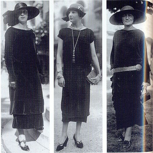 Coco Chanel made a statement in fashion with her comfortable separates for women, her famous Chanel suits, costume jewelry and of course, who would forget her little black dress and the worlds best selling perfume, the Chanel no.5.