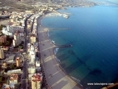 """Carrerlamar desde el aire """"minubetrip"""" El Campello, Alicante. 2012"""