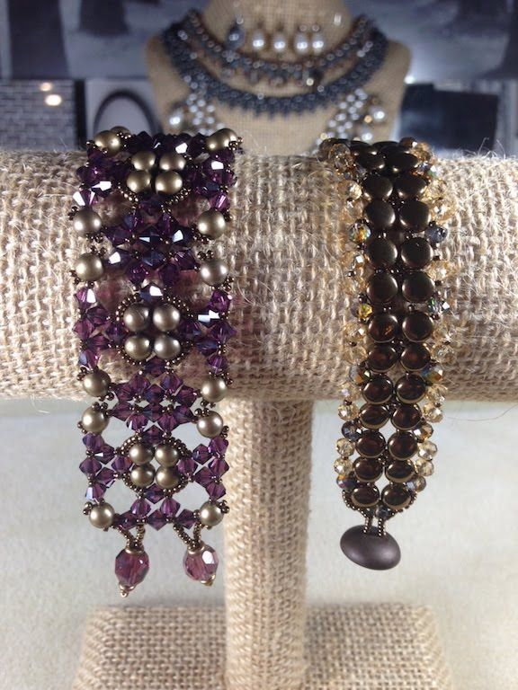 Burnished Lace Bracelet ~ Seed Bead Tutorials