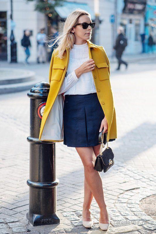 Уличная мода: Модная полячка Monika Winkler: стиль Лондона и минимализм