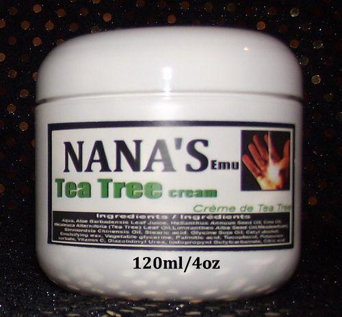 Tea Tree Face & Body Cream... $16.00 each http://www.nanaskincare.com/ Eczema, Dry Skin, Blemishes...