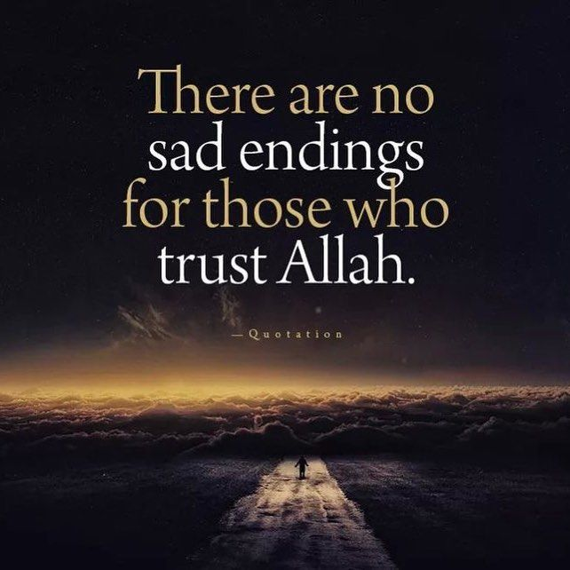 The Moment We Realise That Everything Happens By The Will Of Allah