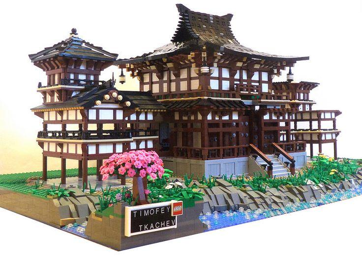 Буддийский Храм WIP (вид со стороны таблички)