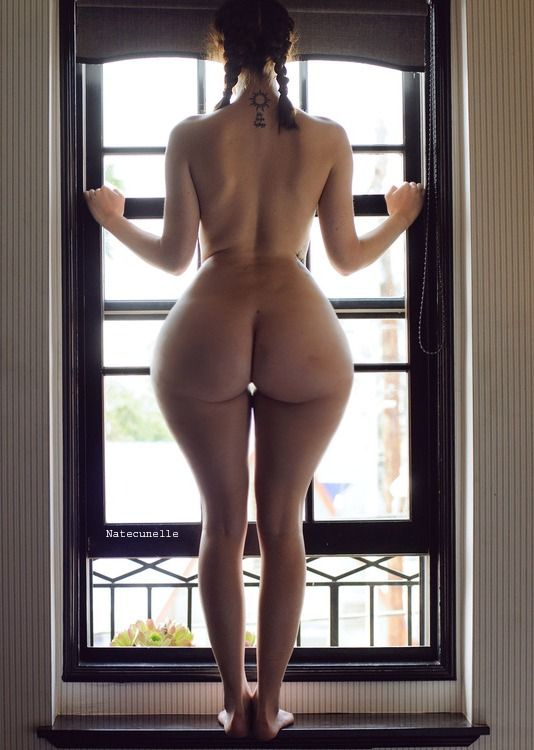 Tall skinny naked woman