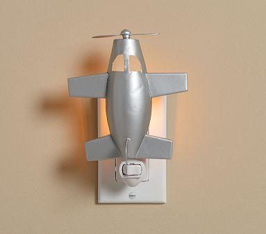 Airplane Nightlight on potterybarnkids.com