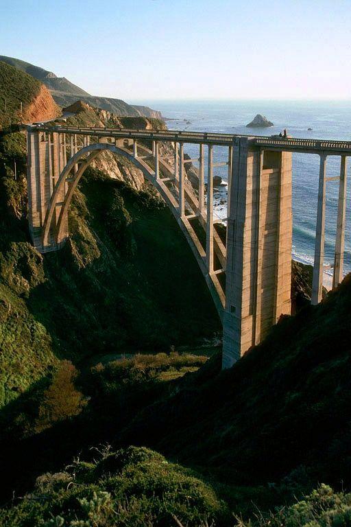 Bixby Creek Bridge, Big Sur, California by Bill Hocker