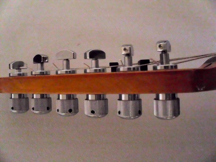 Tuners for guitar