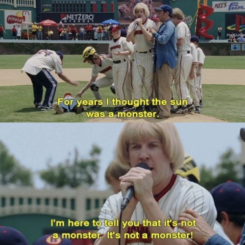 Bahaha! Benchwarmers is such a funny movie!!