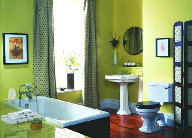 interior decorating with green colors