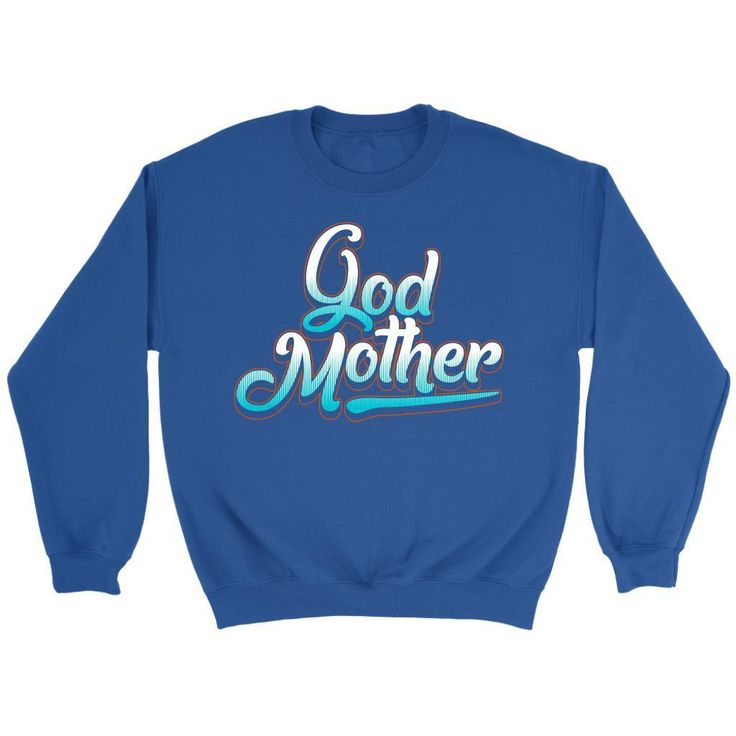 God Mother Cool Graffiti Letters Awesome Cute Funny Unique Gift Ideas Sweater   – Products
