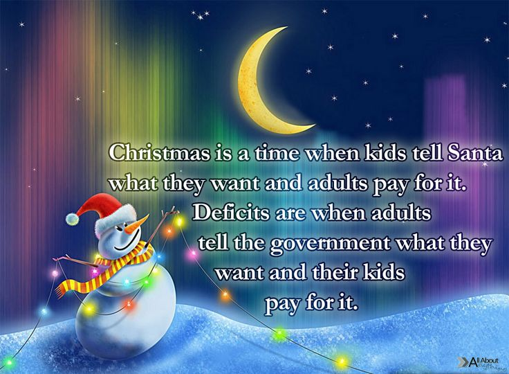 Amazing Cute Holiday Christmas Quote With Funny Snowman Image