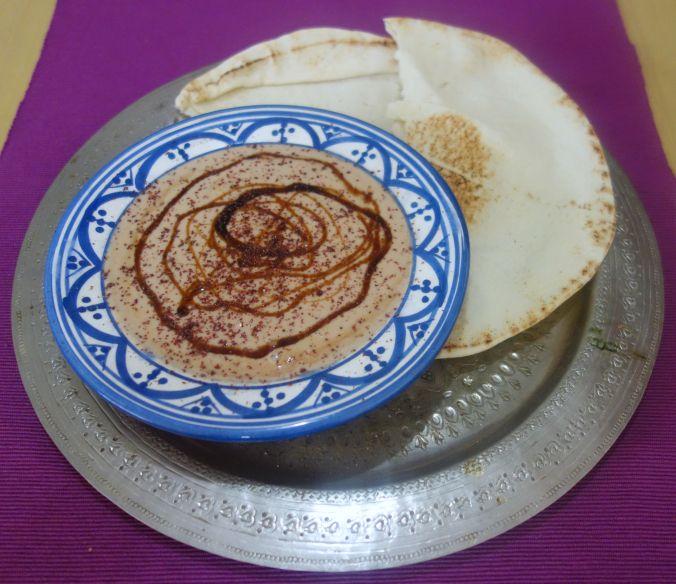 White Bean & Pomegranate Hummus