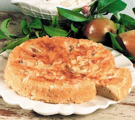 Recept på Päronkaka med mannagryn från - Hemmets Journal