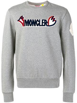 c13b7beb8ad9 Moncler logo sweatshirt