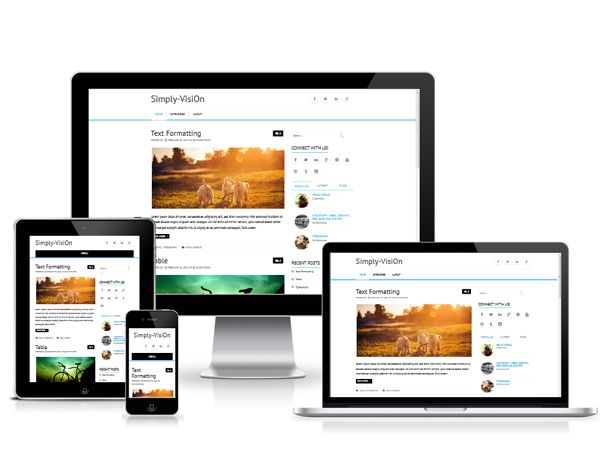 Simply Vision is a clean #theme   for your #WordPress blog that lets people actually read your content  #wordpressthemes #wordpresstheme  Free download: http://wpthemess.net/simply-vision/