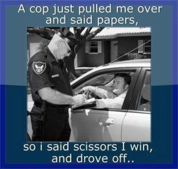 Getting pulled over   Getting Pulled Over
