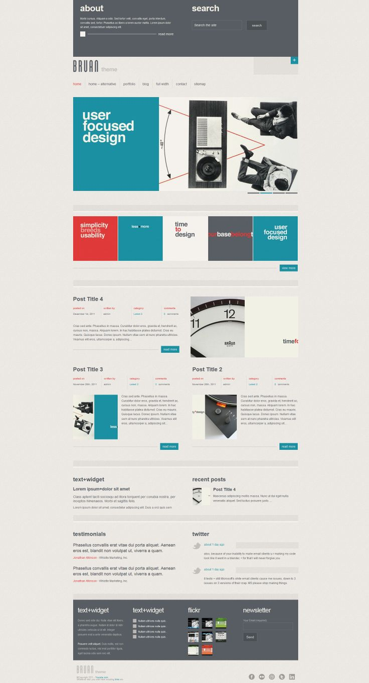 Braun  |  Responsive, Corporate, Wordpress Template  |  themeforest  |  http://mythemepreviews.com/bruan/#