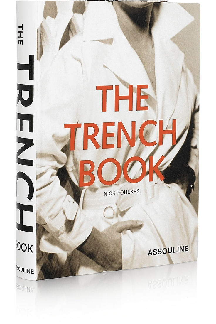 Assouline Books | The Trench Book by Nick Foulkes hardcover book
