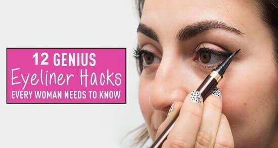 Spar Zeit und verspäte nie mehr wegen dieser bockigen Eyeliner Linie! Lila für Blau source Sind deine Augen blau? Falls ja, kauf dir einen lila Eyeliner!