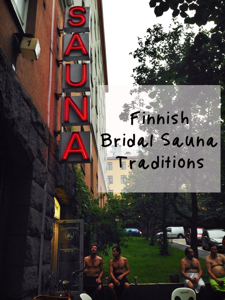 Finnish Bridal Sauna Traditions — magellan & pan