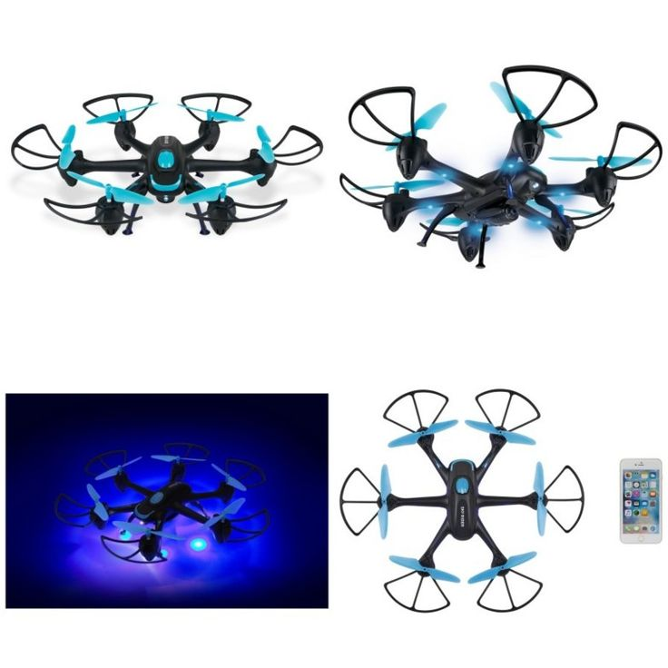 7999 skyrider night hawk hexacopter drone with wifi