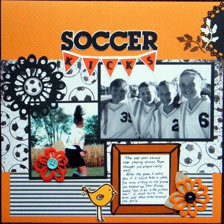 Soccer Kicks - Scrapbook.com