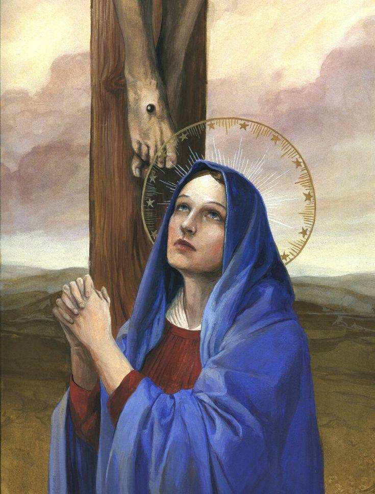 картинки плачущая богородица ангел искали при