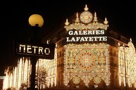 galleria Lafayette paris-Mom and I bought Versace Blonde here before it hit the states. She thought we were hot stuff. I miss her!