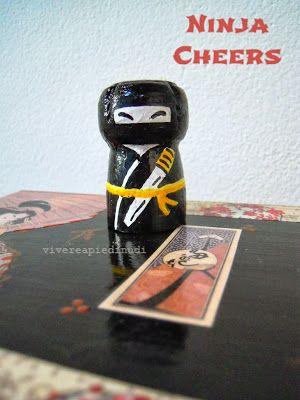 My Ninja Cheers! Riciclo tappi di sughero