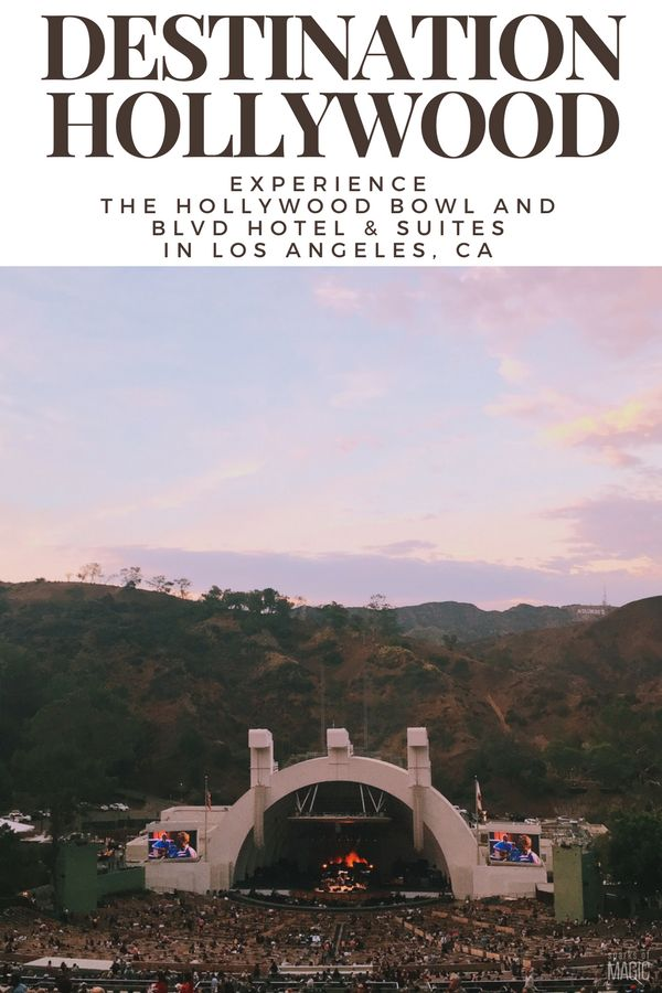 Are you headed to Hollywood, CA, and looking for the scoop on the Hollywood Bowl? Here's what you can expect, tips and even where to stay. #TMOM