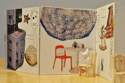 Idee per riciclare il catalogo ikea/how to transform a ikea catalog: paper dolls house #ikea #paper #DollsHouse