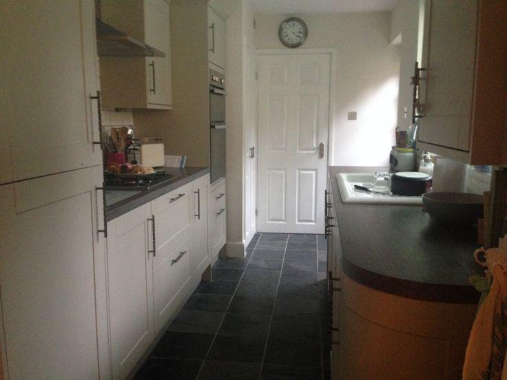 Finished Kitchen Howdens Burford Grey Kitchen Units