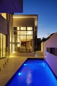 Stunning swimming pool overlooked by all the living areas in the home.