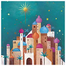 Buy Almanac Star of Bethlehem Charity Christmas Cards, Pack of 8 Online at johnlewis.com
